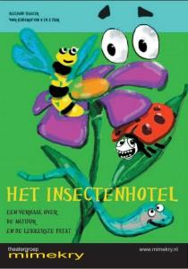 Het Insectenhotel flyer NL voorkant